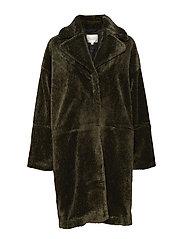 Myra Coat - RIFLE GREEN