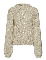 Abri Knit O-neck - OFF WHITE