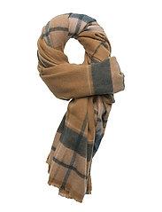 Essa Wool Scarf - SUDAN BROWN