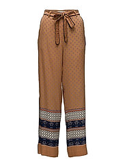 Vavara HW Trousers - BONE BROWN
