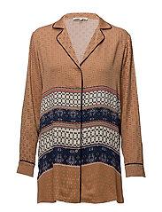 Vavara Shirt - BONE BROWN