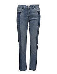 Nala MW Jeans - LIGHT BLUE DENIM