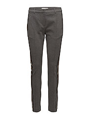 Halina Pants - GREY MELANGE
