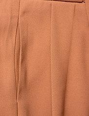 Second Female - Yasemin Long Trousers - bukser med brede ben - argan oil - 2
