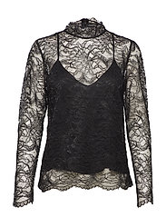 Baldrina Blouse - BLACK