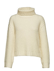 Moma Knit T-Neck - OFF WHITE