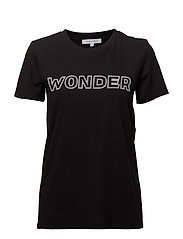 Wonder Outline Tee - BLACK