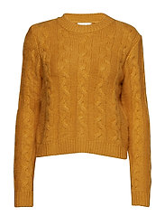 Hella Knit O-Neck - GOLDEN GLOW
