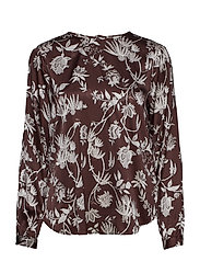 Lila Blouse - CHOCOLATE PLUM