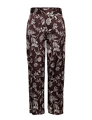 Lila MW Trousers - CHOCOLATE PLUM
