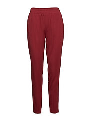 Farrah Trousers - BRICK RED