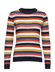 Melis Knit Multi O-Neck