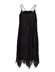 Kita Lace Dress - BLACK