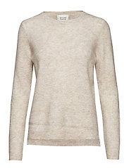 Brook Knit New O-Neck - BRAZILIAN SAND