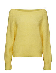 Galis Knit Off Shoulder - SUNSHINE