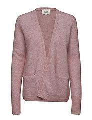 Brook Knit New Short Cardigan - FAIR ORCHID