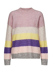 Stella Knit New Loose O-Neck - FAIR ORCHID