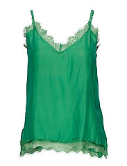 Macy Strap Top - MEDIUM GREEN