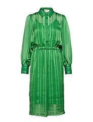 Telinna Dress - MEDIUM GREEN