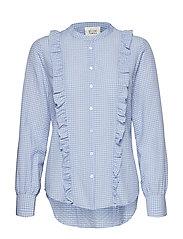 Leslie Shirt - BRUNNERA BLUE