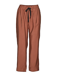 Breeze HW Trousers - BROWN PATINA