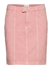 Jenny MW Denim Skirt - BRANDIED APRICOT