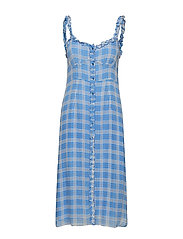 b6ab1f59ad8c Terna Midi Strap Dress - LITTLE BOY BLUE