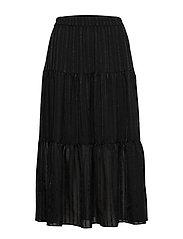 Honey Midi Skirt - BLACK