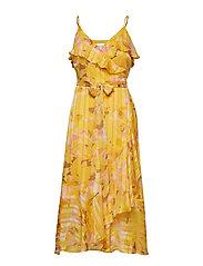 Heat Wrap Maxi Dress