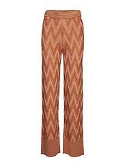 Bea Knit Trousers - AUTUMN LEAF