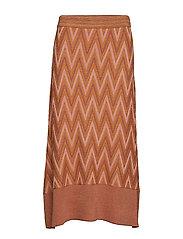 Bea Knit Skirt - AUTUMN LEAF