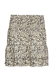 Wisely Short Skirt - BLACK