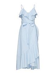 Veras Strap Wrap Dress - LITTLE BOY BLUE