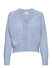 Brook Knit Boxy Cardigan - BRUNNERA BLUE