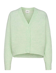 Brook Knit Boxy Cardigan - CLEARLY AQUA