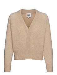 Brook Knit Boxy Cardigan - PARCHMENT