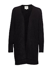 Brook Knit Cape - BLACK