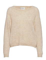 Brook Knit O-Neck - BRAZILIAN SAND