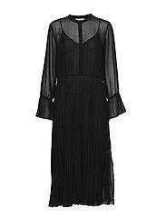 Anita LS Maxi Dress - BLACK