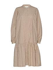 Jang LS Dress - CHAI TEA
