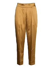 This elegant trousers are made from a luxurious po lyester s - BISTRE