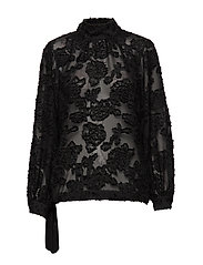 Lyro LS Blouse - BLACK