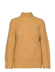 Canis Knit O-Neck - GOLDEN ROD