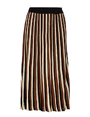 Lepus Knit HW Skirt - TORTOISE SHELL