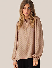 Second Female - Berri LS Blouse - langermede bluser - praline - 0