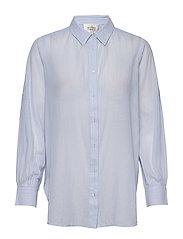 Dominus LS Shirt - CHAMBRAY BLUE