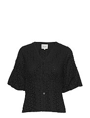 Milly SS Blouse - BLACK