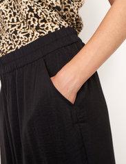 Second Female - Minga New Trousers - bukser med brede ben - black - 3