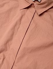 Second Female - Larkin LS Midi Shirt Dress - midiklänningar - mocha mousse - 5