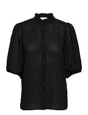 Tara SS Shirt - BLACK